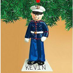 Personalized Marine Ornament