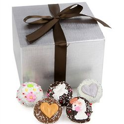 Wedding Belgian Chocolate Gourmet Oreos Gift Box