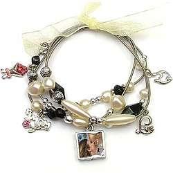 Love You Mom Photo Bracelet