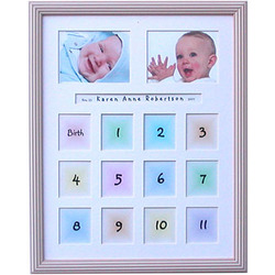 "Baby's First-Year 11x14"" Photo Frame"