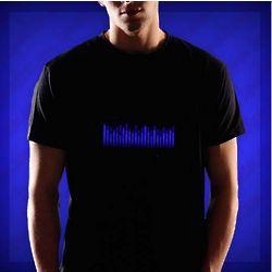 Techno Blue Equalizer T-Shirt