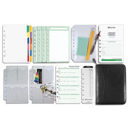 Distressed Leather 2 Page-Per-Day Reference Solution Set