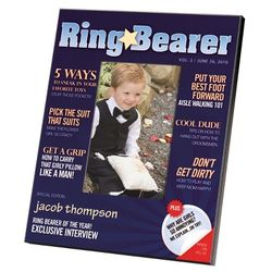 Ring Bearer Magazine Cover Frame