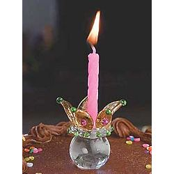 Royal Birthday Candle Holder