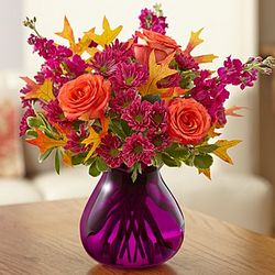 Plum Crazy for Fall Bouquet