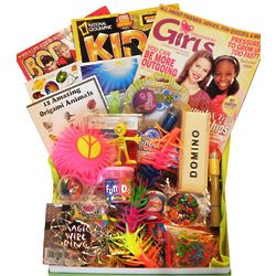 Tween Girl's Magazines and Toys Gift Box