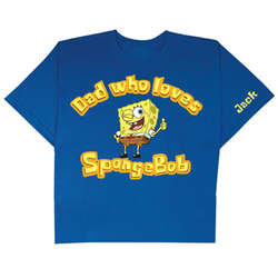 Personalized SpongeDad T-Shirt