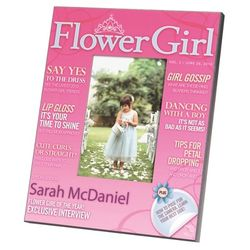 Flower Girl Magazine Cover Frame