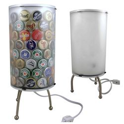 Recycled Bottle Cap Table Lamp Kit