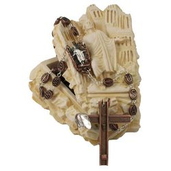 9-11 Remembrance Rosary & Commemorative Rosary Holder