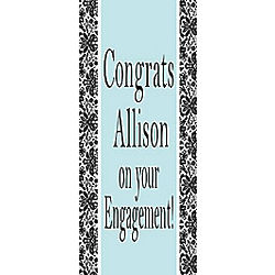 Together Forever 82x30 Personalized Vertical Banner