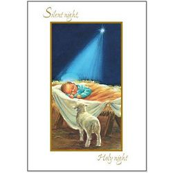 Baby Jesus Christmas Cards