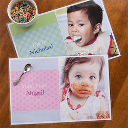 Little One's Personalized Photo Placemat