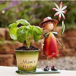 Personalized Herb Planter with Seeds