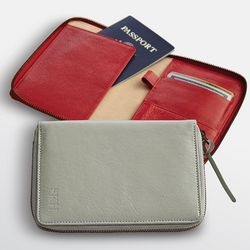 Leather Padfolio Document Case