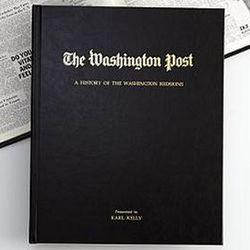 Personalized Washington Post Sports Book