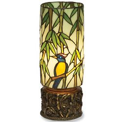 Bird in Bamboo Accent Lamp