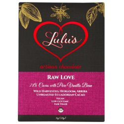 Organic Raw Love Artisan Chocolate
