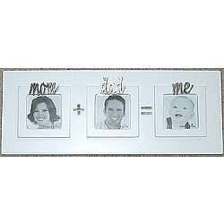 Mom Dad Me Baby Picture Frame Findgiftcom