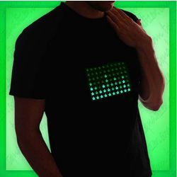 Hemp Leaf Equalizer T-Shirt