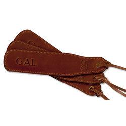 Col. Littleton Leather Bookmarks