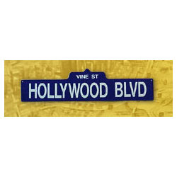 Hollywood Blvd. Street Sign