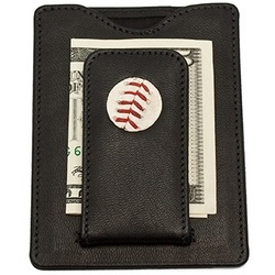 Philadelphia Phillies MLB Baseball Stitch Money Clip Wallet
