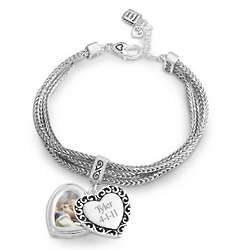 Expressions Photo Swing Bracelet