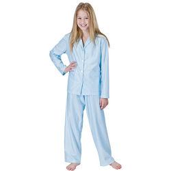 Blue Daisy Pajamas for Girls