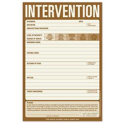 Intervention Pad