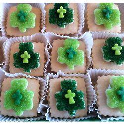 Sugar Crisp Shamrock Sandwich Cookies