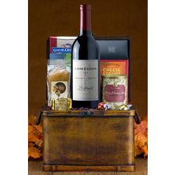 Thanksgiving Zinfandel Wine Basket