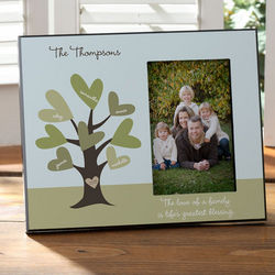 Leaves of Love Personalized Photo Frame