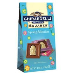 Spring Impressions Milk and White Squares Easter Chocolates
