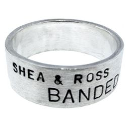 Men's Sterling Silver Duck Band Ring