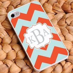 Chevron Personalized iPhone Case