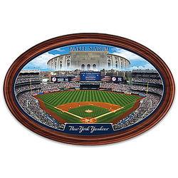 New York Yankees Personalized Stadium Plate