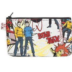 Star Trek Comic Book-esque Zippered Bag