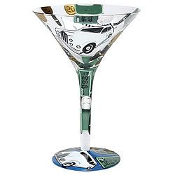 Millionaire Martini Glass