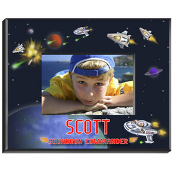 Personalized Boy's Space Picture Frame