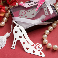 Stylish Book Lovers Collection Shoe Bookmark
