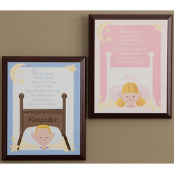 Personalized Bedtime Prayer Wall Plaque