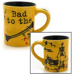 Bad to the Bone Skeleton Mug