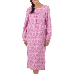 Sugar Plum Flannel Gown