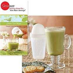 Shinwa Green Tea Mixer and Tea
