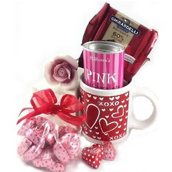 Rose with Love and Kisses Mug