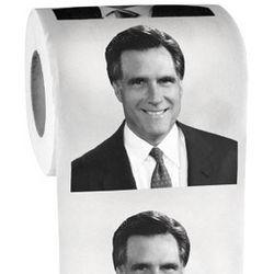 Mitt Romney Toilet Paper Roll