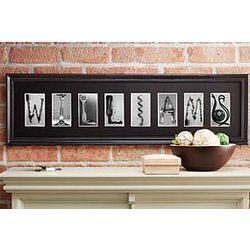 Personalized Wine Alphabet Photography Frame