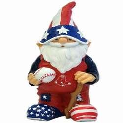 Boston Red Sox Patriotic Garden Gnome