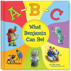ABC What I Can Be Personalized Book